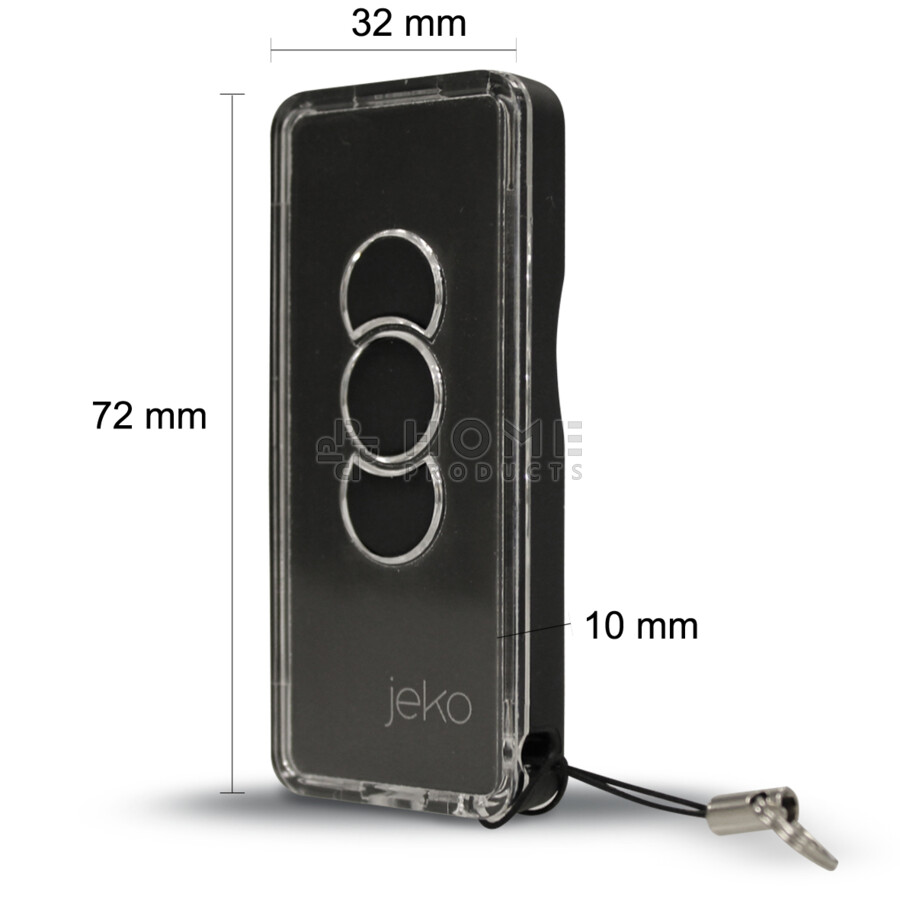 JEKO universal remote control (replacement remote), dark
