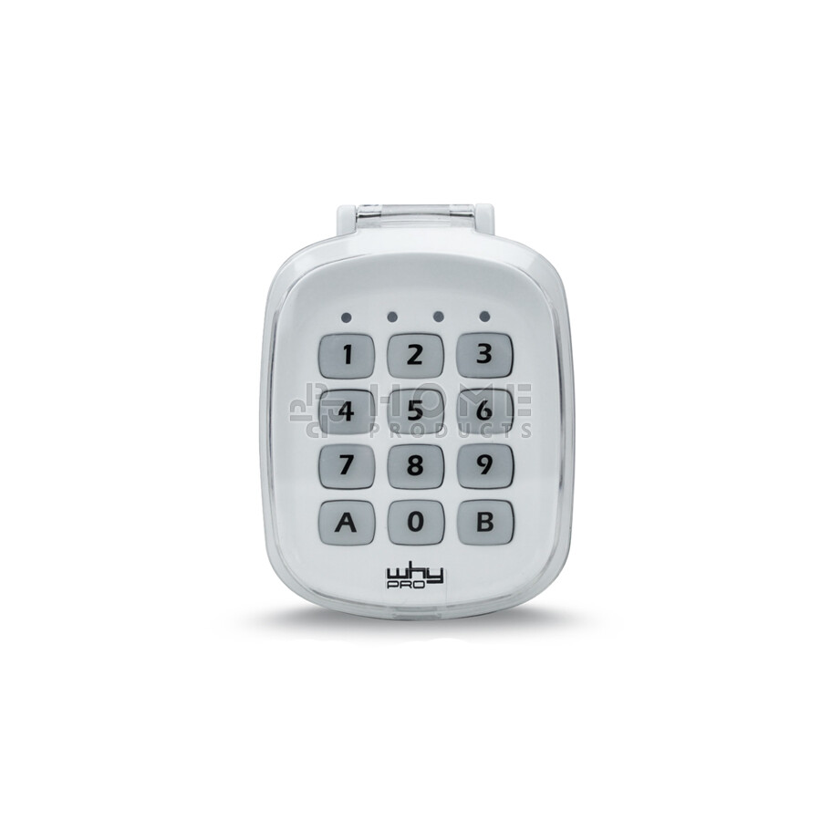 Why Evo wireless universal keypad også til Cardin S449