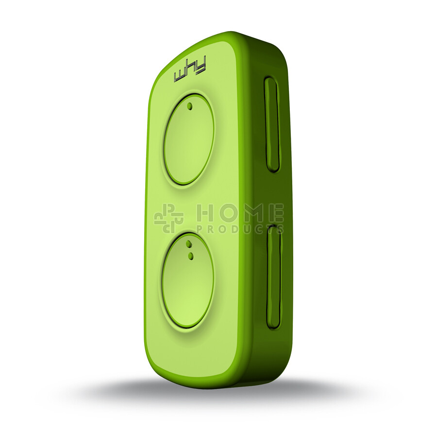 Why Evo Mini universal remote control (replacement remote), Acid Green også til Mhouse TX4 / TX3