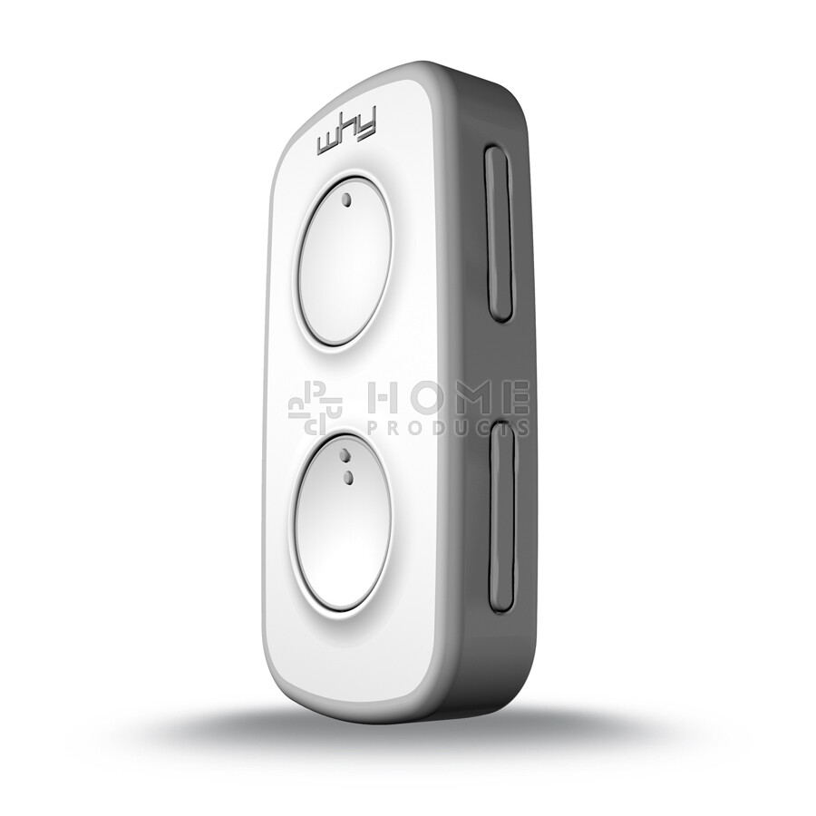 Why Evo Mini universal remote control (replacement remote), Pure Grey også til Mhouse TX4 / TX3